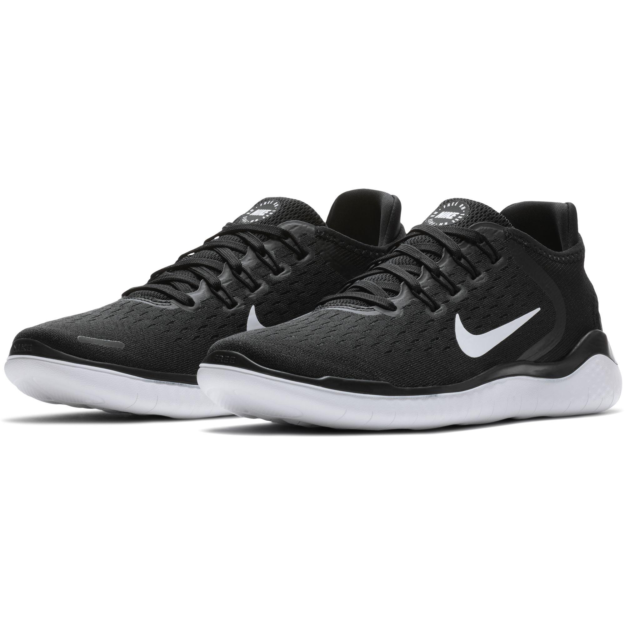 new style dfe38 088b8 Nike Free Run 2018 Herren Laufschuhe Running Freizeitschuhe schwarz ...