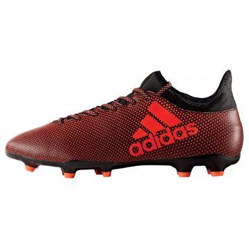 Details zu adidas X 17.3 FG Nocken Fußballschuhe Herren Kunstrasen Naturrasen rotschwarz