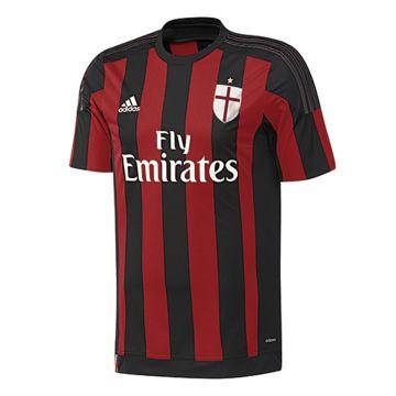 dd5f2bdb99a47 adidas AC Mailand Trikot Kinder ACM H JSY Y Junior AC Milan S11834  schwarz rot