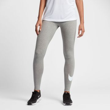 nike leggings club logo2 damen sporthose leggins. Black Bedroom Furniture Sets. Home Design Ideas