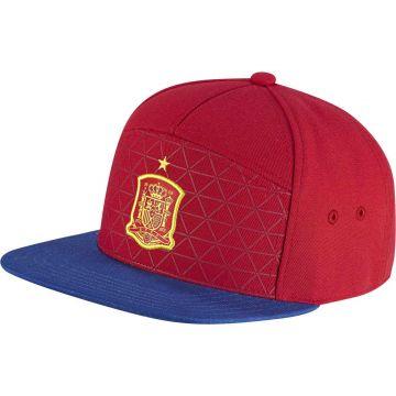 Details zu adidas Spanien Legacy Snapback Cap Basecap Kappe Fussball rotgelbblau AO2822