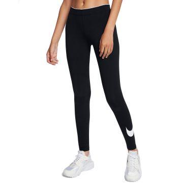 49e2281ed29f05 Nike Leggings Club Logo2 Damen Sporthose Leggins Trainingshose lang ...