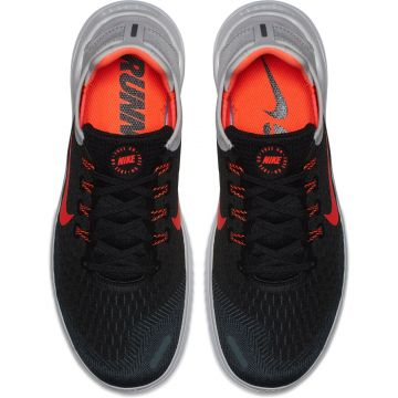 new concept e5711 ef102 Nike Free Run 2018 Herren Laufschuhe Runningschuhe Black Total Crimson-Vast  Grey