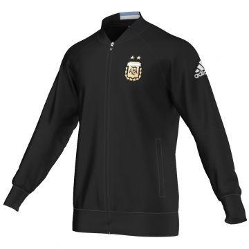 Details zu adidas Argentinien Sport Jacke Anthem Hymnenjacke Tracktop AFA schwarz