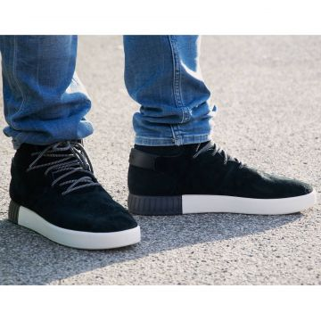 Details about Adidas Originals Tubular Invader Sneaker Mens Shoes Suede Black s80243 show original title