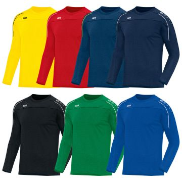 Kinder & Jugend Jako Sweat Classico Kinder citro Sweatshirt langarm Shirt Pullover Sport Fitness Sweatshirts & Pullover
