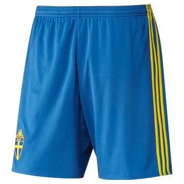 huge sale catch special sales Details zu adidas SVFF Schweden Home Kinder Short Fußball Hose Shorts  blau/gelb
