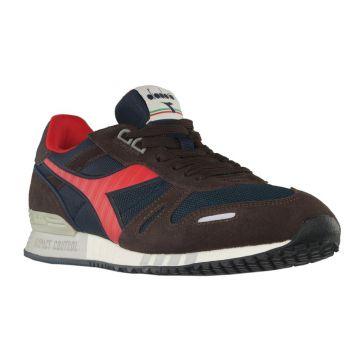 d67067d8355fc8 Diadora Titan II Herren Schuhe braun blau Sneaker Wildleder Air Max ...