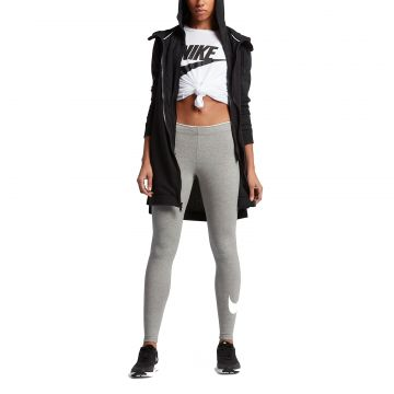 806f99e2a5d6b5 Nike Leggings Club Logo2 Damen Sporthose Leggins Trainingshose lang  Fitnesshose