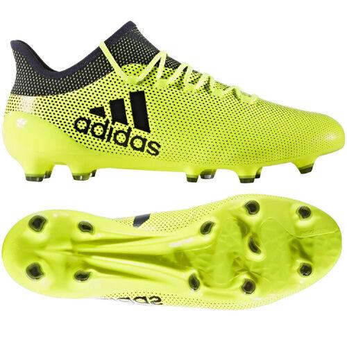 Details zu adidas X 17.1 FG Fußballschuhe Nockenschuhe gelbschwarz S82286