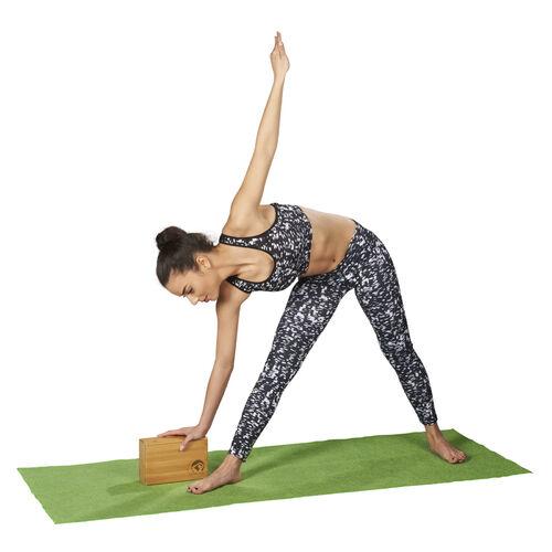 Trendy Sport Yoga Block Fitness Pilates Joga Yogablock Klotz schwarz 7,5 cm