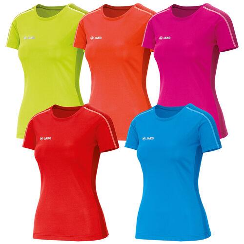 Details zu Jako T Shirt Sprint Damen Running Shirt Laufshirt Jogging Fitness Ladys 6110