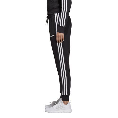 Details about Adidas Essentials 3 Stripe Jogging Pants Ladies Sports  Trousers Casual Pants Black- show original title