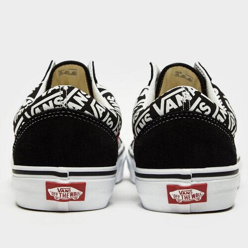 Detalles de Vans Old Skool logotipo cortos retro zapatos casual zapatos skater logo negroblanco ver título original