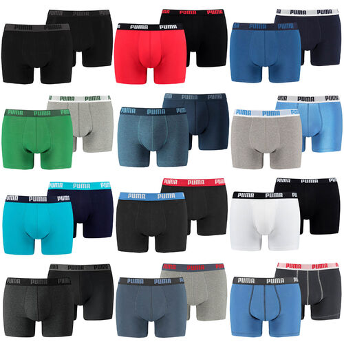 PUMA Herren Boxershorts Unterhosen 521015001 4er Pack