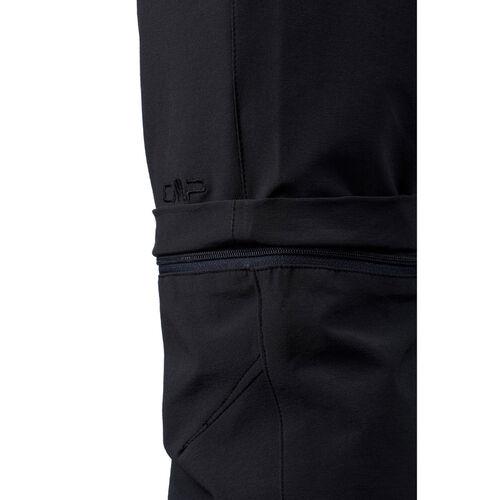 CMP Laufhose Sporthose Funktionshose schwarz Stretch Dryfunction