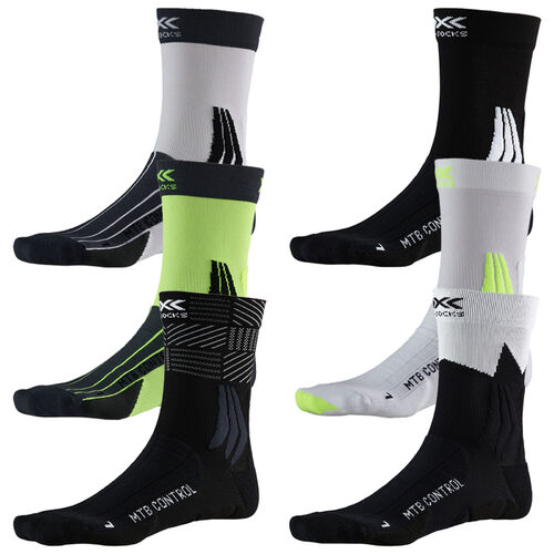 Fahrradsocken MTB-Socken X-Socks MOUNTAIN BIKING X020007