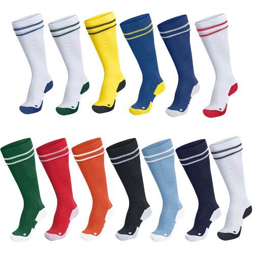 hummel Element Footless Fu/ßball Socken Schwarz//Wei/ß S