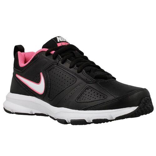Details zu Nike T Lite XI Sportschuhe schwarz Damen Hallenschuhe Turnschuhe schwarzpink