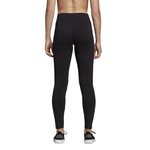 adidas Essentials Linear Tight Trainingshose Damen Schwarz