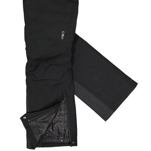 CMP Stretch-Skihose mit Hosenträgern in Kurzgrößen Schneehose Winterhose schwarz