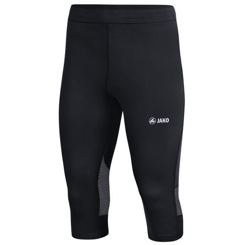 Jako Run 2.0 Capri Damen Leggings Lauftight Sporthose Fitness schwarz 6726