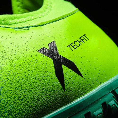 Details zu adidas X 16.3 TF Multinocken Fußballschuhe Kunstrasen Asche Herren grün BB5875