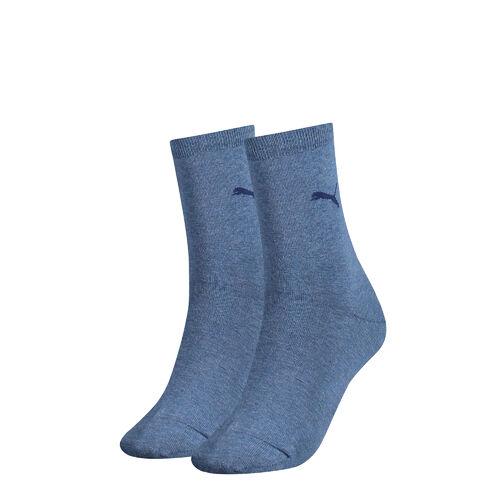 Puma 2 Paar CLASSIC SOCK Damen klassische Casual Freizeit Socken Socks Strümpfe