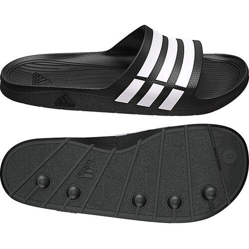 Details about Adidas Duramo Slide Flip Flops Mens Adiletten Bath Slippers  Black Size 39-48- show original title