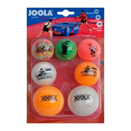 JOOLA Flip 40 Tischtennisbälle 72er Pack Sport Tischtennis Bälle TT Ping Pong