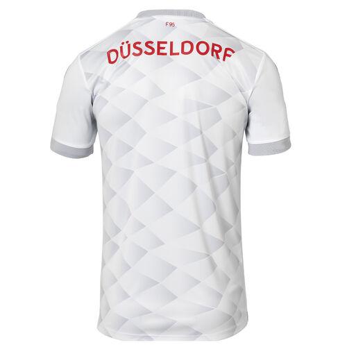 uhlsport Fortuna Düsseldorf Heimstutzen 125 Jahre Jubiläum 2019//20 weiß//rot