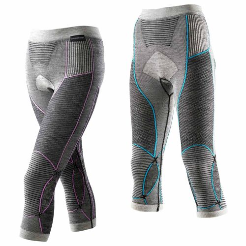 X-Bionic Lady eurofranc Merino Pants Medium Funktionshose Femmes Laine Sous-vêtements