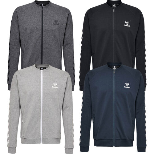 Details about Hummel Ray Zip Jacket Mens Sweat Jacket Sports Jacket Leisure Fitness Jackets 203010 show original title