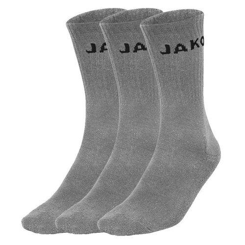 Jako Füßlinge 3er Pack schwarz Socken Strümpfe Damen Herren Sport Sneaker TOP