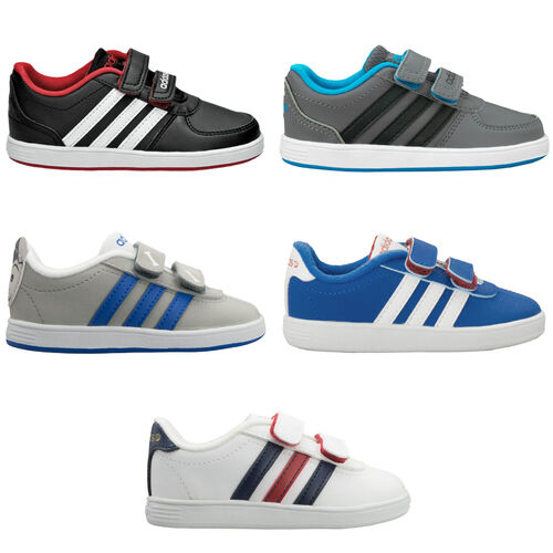 Details about Adidas Neo Kids Trainers Court Shoes Toddler Baby Shoes Kids Velcro show original title