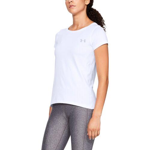 Komfortables Funktionsshirt mit Loser Passform Under Armour Damen Tech Twist atmungsaktives und kurz/ärmliges Sportshirt f/ür Damen