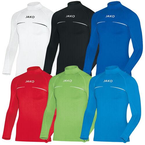 JAKO Kinder Turtleneck Comfort Thermoshirt langarm Unterwäsche schwarz 116-176