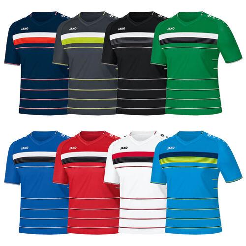 Herren Unifarben Kurzarm Laufshirt Trikot Funktion Sport Fussball Quick Dry Tops