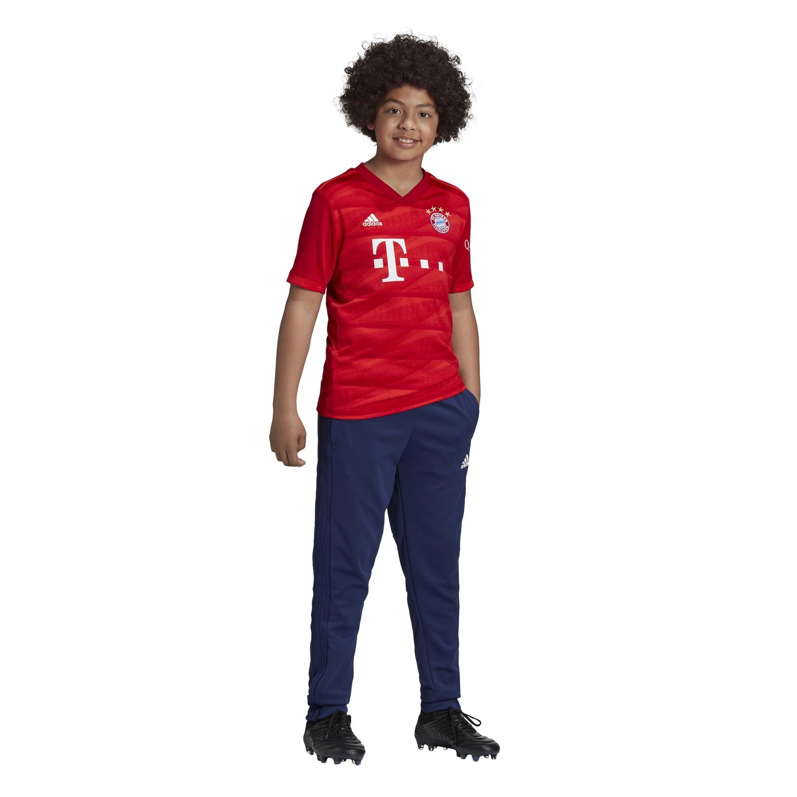 adidas-FC-Bayern-Muenchen-Heimtrikot-Kinder-2019-2020-Home-Jersey-rot-DX9253 Indexbild 18