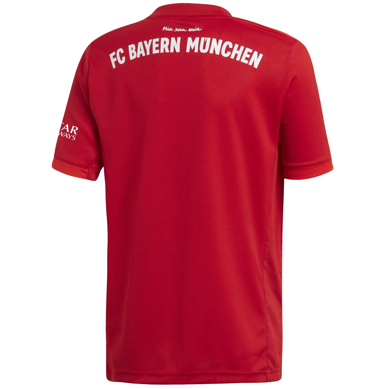 adidas-FC-Bayern-Muenchen-Heimtrikot-Kinder-2019-2020-Home-Jersey-rot-DX9253 Indexbild 21