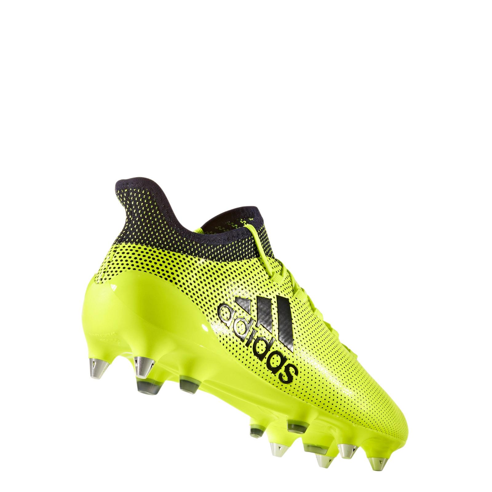 1 Zu Adidas Sg 17 Fußballschuhe Details Rasen Schuhe S82314 X Fußball Gelbschwarz Stollen TK3JcFl1